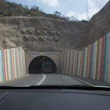 CAM 1201 Decorated tunnel in Asir region
