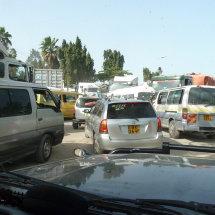 Chaos on Mombasa Road