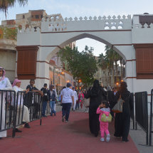 JED 2851 Entrance to Jeddah Festival in Balad