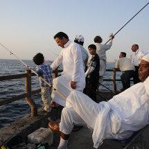 JP1 9516 On the fishing pier Jeddah Corniche