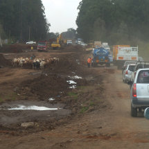 Lantata Road Under construction