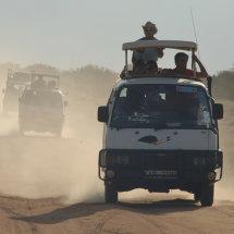 Tourists Amboseli National Park