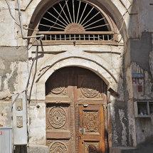 BAL8824 Door with Fanlight Old Jeddah