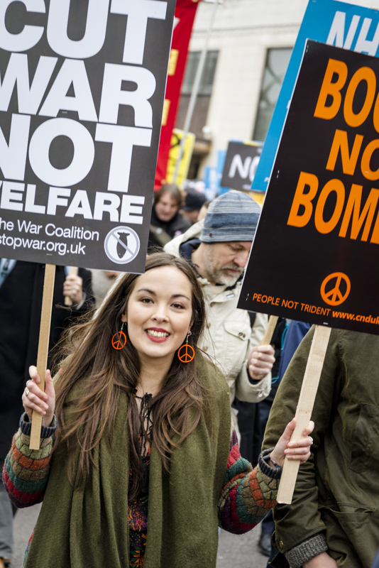 Stop Trident Demonstration, 2016