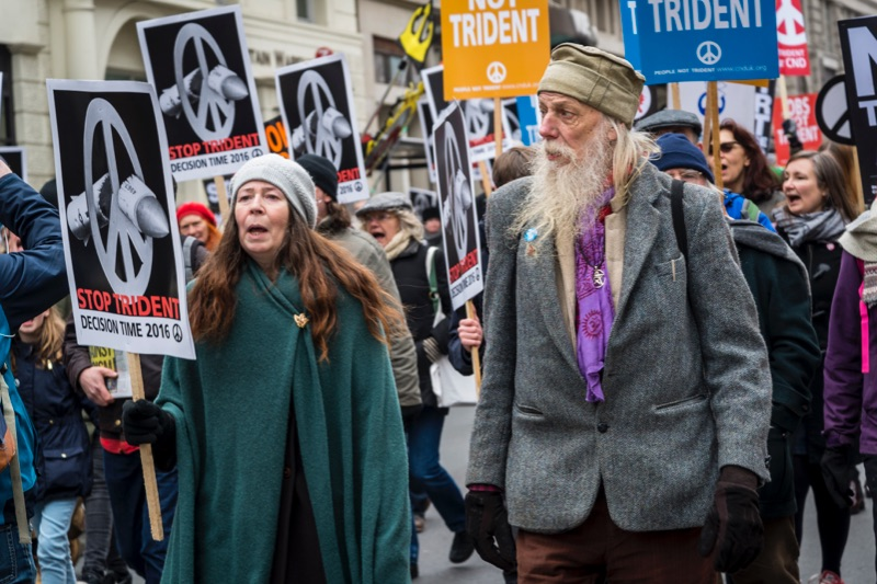 Stop Trident Demonstration, 2016