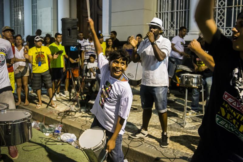 Street party, Recife, Brazil