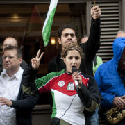 Protest for Free Palestine, London