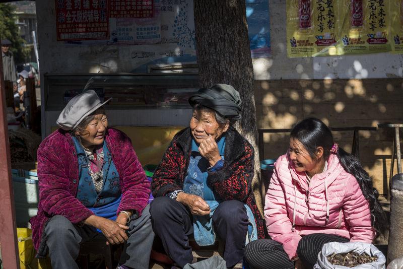 Friday market in Shaxi, Yunnan