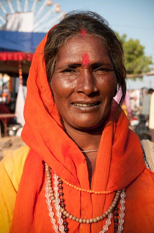 Woman, Pushkar, India