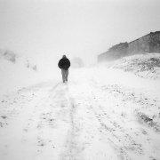 Snow storm, Bolivia