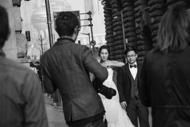 Wedding photoshoot, Shanghai