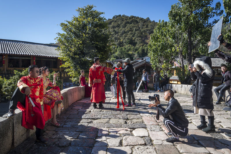 Wedding photoshoot, Lijiang