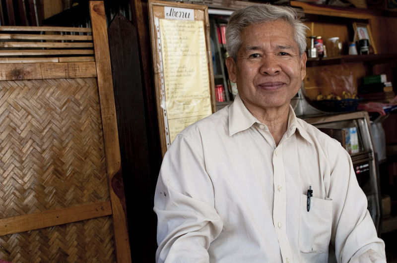 Cafe owner, Luang Prabang, Laos