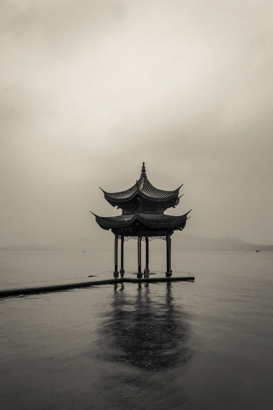 Pagoda at West Lake, Hangzhou