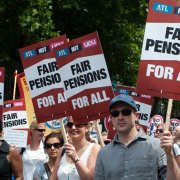 Public sector pensions strike