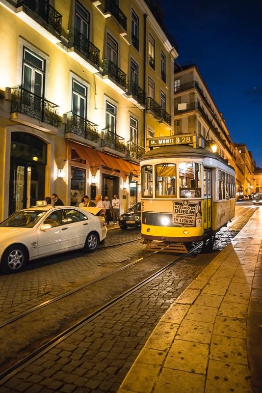 Tram No 28, Lisbon, Portugal