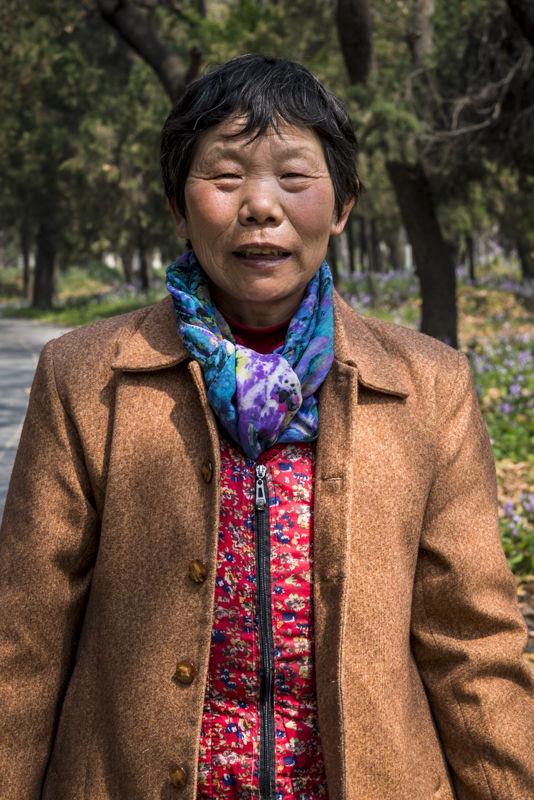 Woman, Qufu, Shandong province