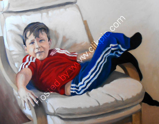 Tommy oil on canvas