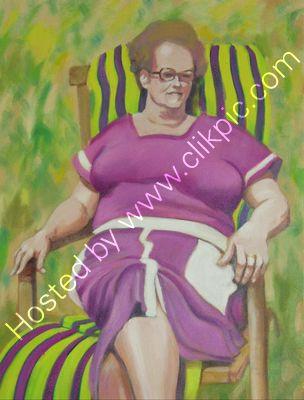 Doris oil on canvas