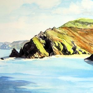 North Devon Watercolour