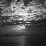 Black & White Sunset