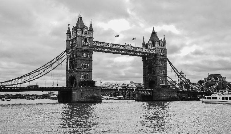 Tower Bridge, Black & White