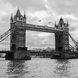 Tower Bridge, Black & White