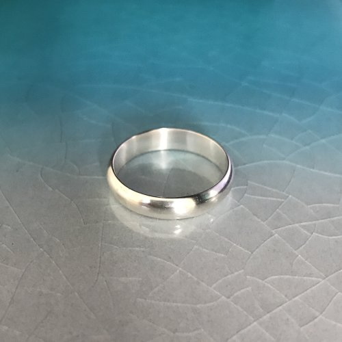 Plain Silver Band - Custom Order