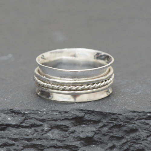 Silver Spinner Ring £39