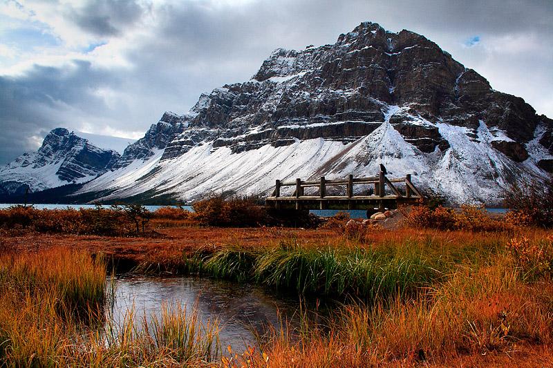 Crowfoot Mountain - Bow Lake
