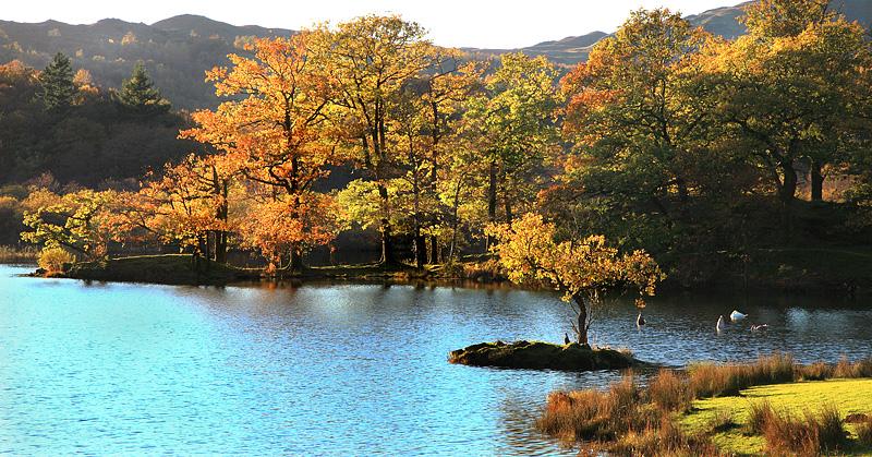 Rydal Water Autumn 3