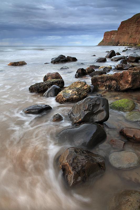 Huntcliff High tide