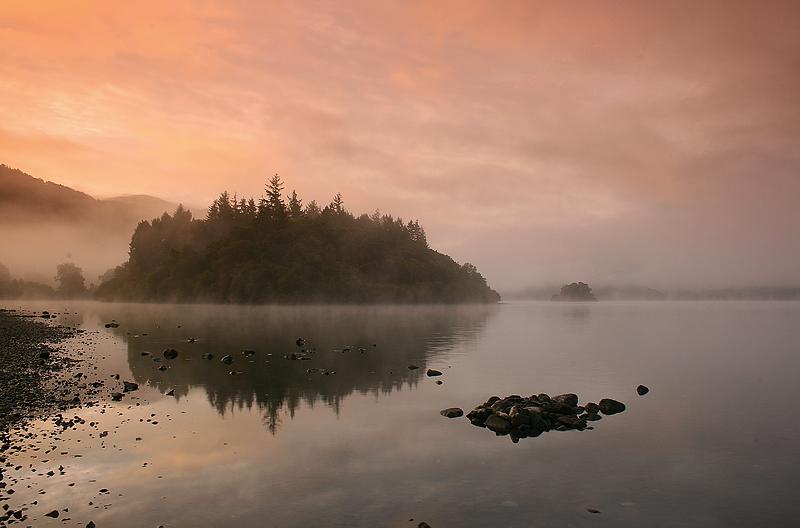 Derwentwater Misty Dawn