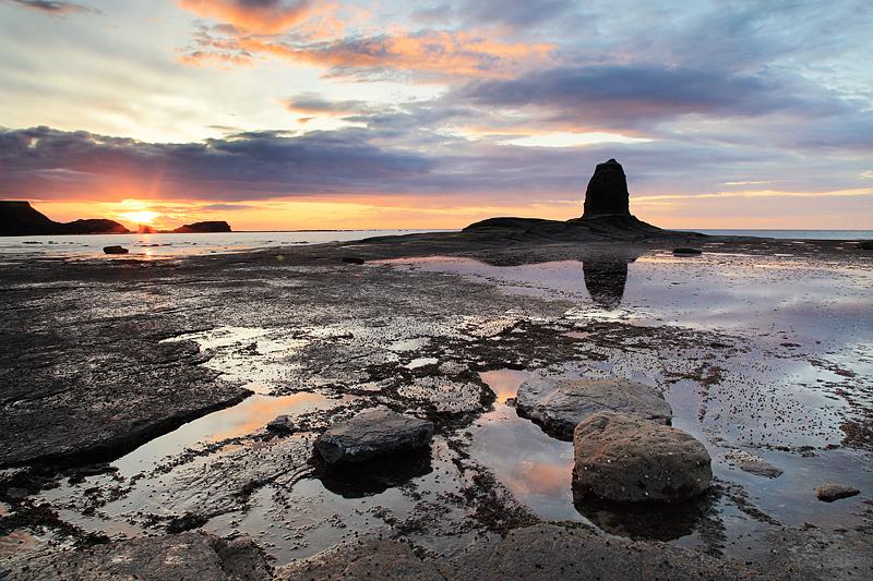 Saltwick Sunset 1