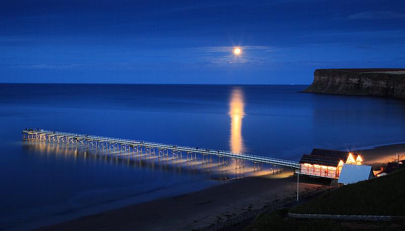 Moonlit Pier
