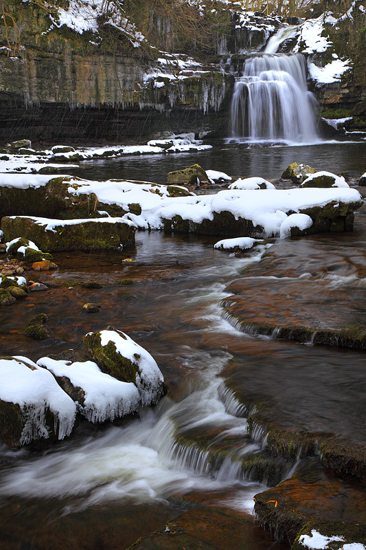 West Burton Falls - Winter 1