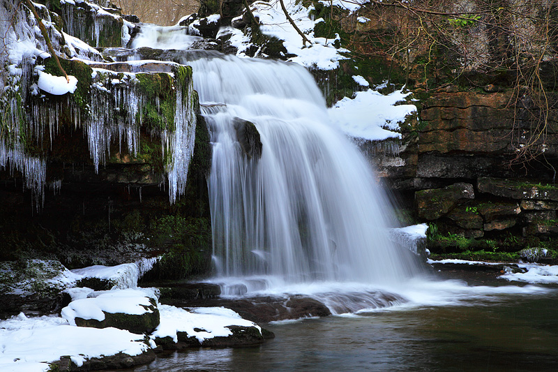 West Burton Falls - Winter 2