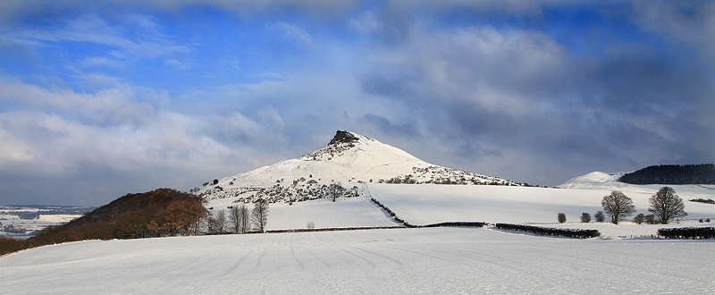 Roseberry Winter Panorama