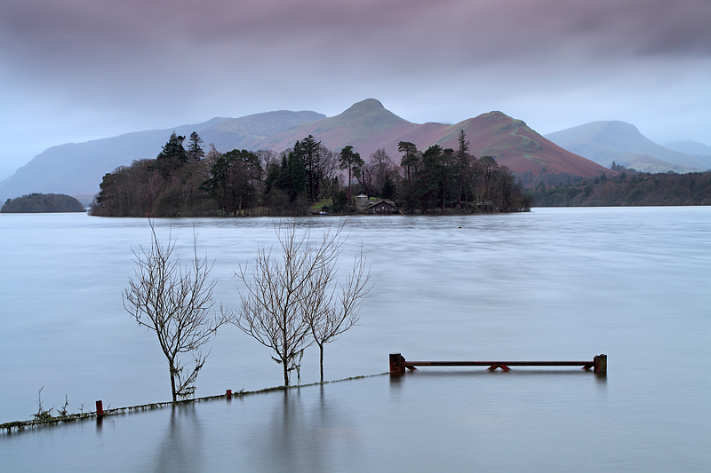 Derwentwater Winter Floods 2