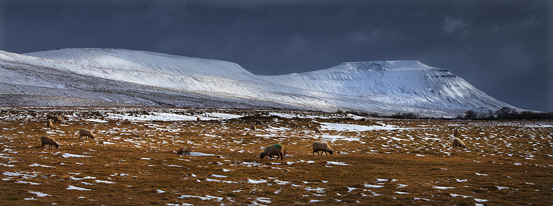 Ingleborough Winter 2