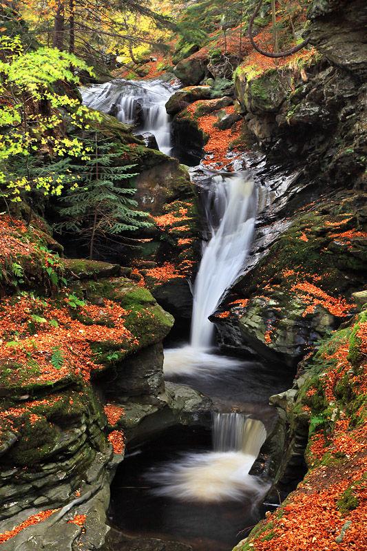 Sc 120 Falls of Acharn Loch Tay