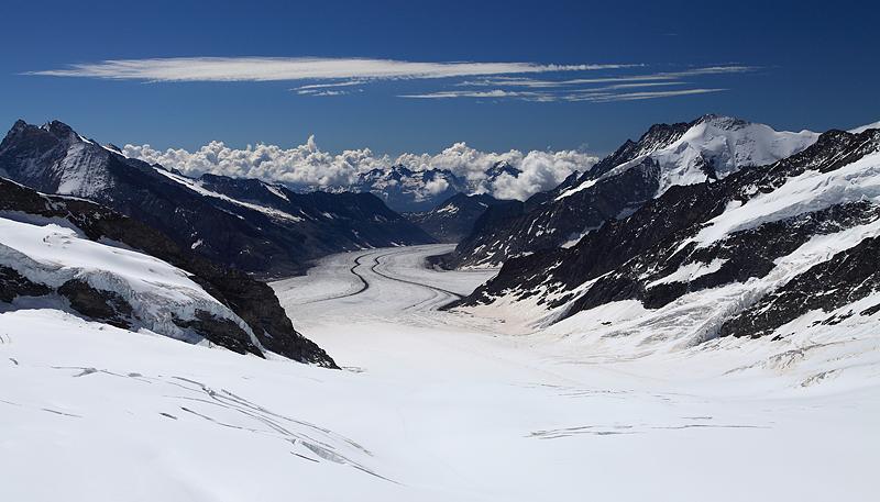 Aletsch Glacier Jungfrau