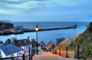 Whitby After Sun Down