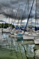 Yachts on Lake Windermere