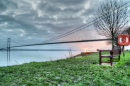Sunset at Humber Bridge