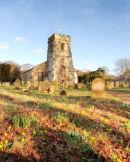 Spring Churchyard