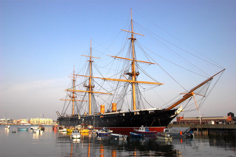 88003 - HMS Warrior 1860