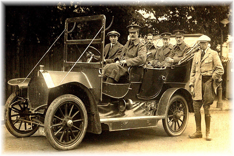 88009 -1915 Staff Car