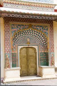 Peacock Doorway India