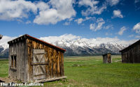 Mormon Barns, Grand Tetons
